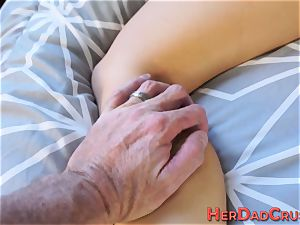 Stepdaughter throating bone
