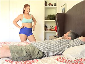Edyn Blair pounded By thick black fuckpole husband watches