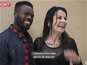 porn starlet boinks Random fledgling boy With wife Filming