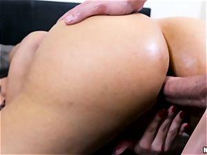 super-hot mummy Mercedes Carrera gets a ass fucking invasion