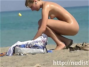 super-sexy beach naturist nymphs