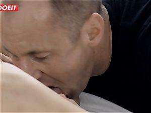 LETSDOEIT - steamy wifey rides stiff husbands salami To climax