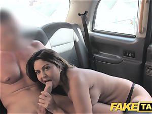 faux cab fat facial cumshot jism shot for brown-haired in pantyhose