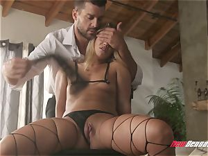 hotwife Candice Dare strapped Up and romped