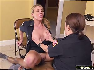 brown-haired milf obese bum ebony male squatting in home gets our cougar officers squatting on