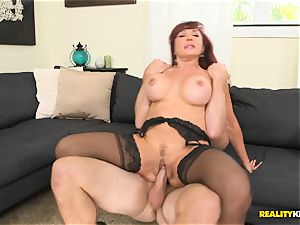 cool Vanessa getting her old vulva plowed