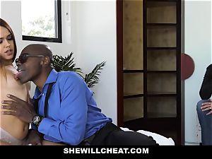 ShewillCheat - luxurious wifey humps bbc