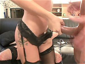 super-naughty Tory Lane gives Amy Brooke a double dipping