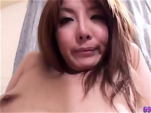 flawless student hardcore fuckfest in point of view with Yuna Hirose