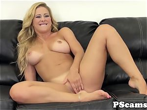 Cherie Deville drilled with bbc on cam display