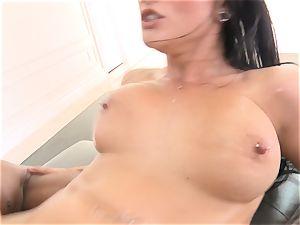 Creaming inside killer brunette Katrina Jade