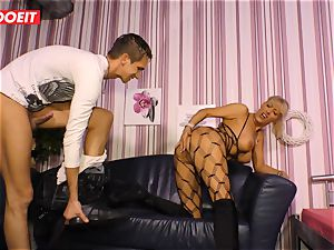LETSDOEIT - warm auntie rails nephews manhood On hookup tape
