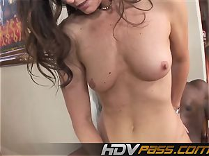 HDVPass interracial fucky-fucky with India Summers