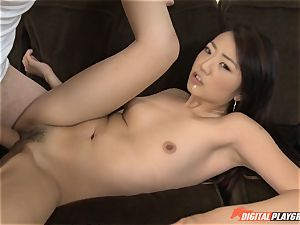 ultra-cute asian Miko Dai gets crammed by a thick fuckpole