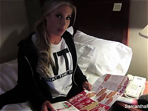bare across America with Samantha Saint in Milwaukee