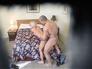 insatiable Nina Elle pummels her stud at the hotel
