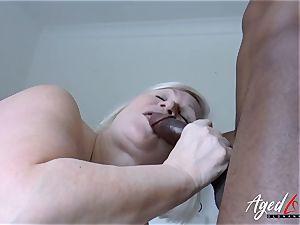 AgedLovE Lacey Starr bi-racial hardcore fuckfest