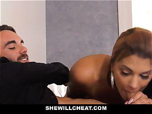 SheWillCheat - hot hotwife wife vengeance tearing up