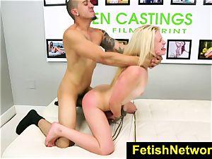 FetishNetwork Aubrey Gold casting couch