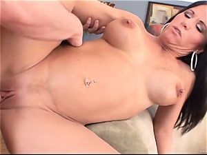 Kendra Secrets gets her twat packed with hard spunk-pump