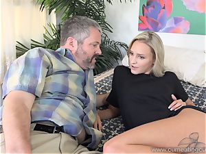 Emma Hix and husband pound Her young dude mate