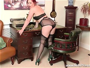 redhead is vintage nylon fetish hoe at masturbate Off Club