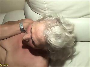 75 years elder grannie first-ever porn flick