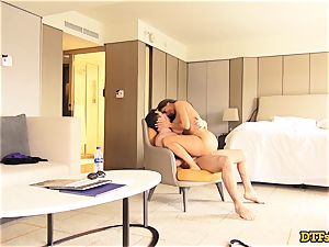 Ava Addams spends the day with James Deen