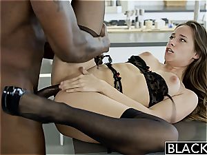 BLACKED My girlfriends red-hot sister Cassidy Klein enjoys big black cock