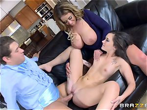 Gia Paige and Eva Notty getting plowed