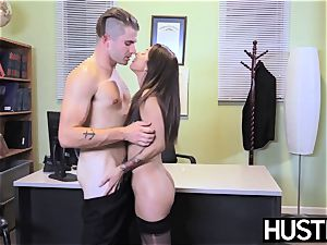 provocative nurse Stassi Sinclaire pokes in doctors office