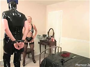 Many female dom dommes predominate obedient males