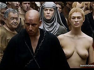 Lena Headey bares her naked body in Game of Thrones