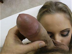 wonderful ash-blonde Vanda fervor boinked in her butthole