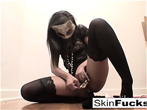 very nasty fuckbox play with skin Diamond