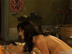 individual guts examination and massage
