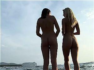 Eva and Veronika taking a roam