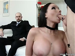 Exotic Swinger wife smashes Another dude