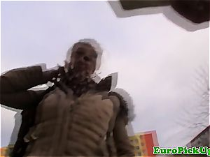ash-blonde eurobabe point of view boinked
