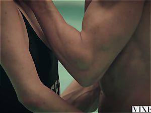 VIXEN style Model Blake Edens powerful sex Session