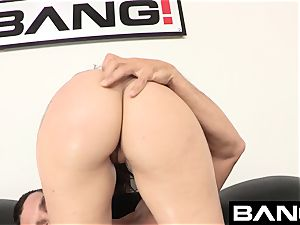 fuck audition: Mandy Muse rectal stunner unleashed