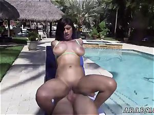 Arab older stud shag and lush anal invasion gonzo My first-ever creampie