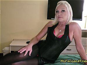 John Calls Over a fresh mate with Ms Paris Rose