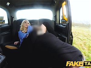 fake taxi big-titted super-naughty nurse pees and rough pummeling