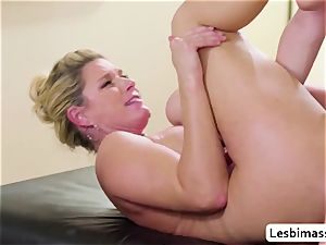 India Summer and Elsa Jean reach their finest orgasm ever