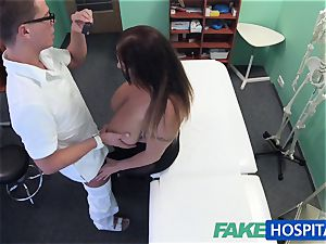 FakeHospital honey wants jizz all over her humungous immense udders