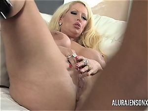 fat melon pornographic star Alura Jenson loves giant dark-hued pipe