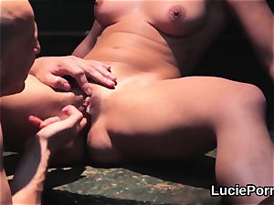 fledgling girl/girl nymphs get their tasty twats tongued and nailed