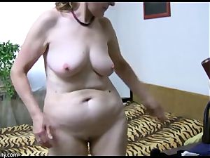 OldNanny grandmother unwrap and toyfuck compilation