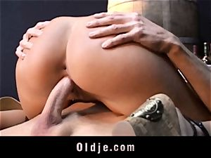 old stallion drills ultra-kinky Candy Cat